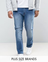 Loyalty And Faith Plus Stretch Regular Fit Salem Jeans Blue
