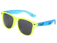 Neff Daily Shades Yellow Blue Sport Sunglasses Multi