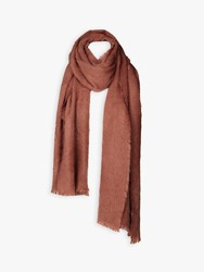 Fat Face Poppy Brushed Scarf Rose