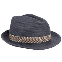 Ted Baker Hatz Contrast Band Trilby Navy