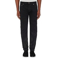 Saint Laurent Men's Original Low Rise Skinny Jeans Blue