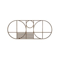Ferm Living Oval Outline Trivet