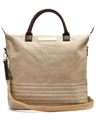 Want Les Essentiels O'hare Linen Tote Brown