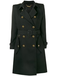 Givenchy Military Trench Coat Black