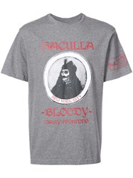 Haculla Bloody Mary Morning T Shirt Cotton Xl Grey