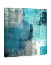 Marmont Hill Meditation In Blue Painting Print On Wrapped Canvas