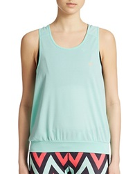 Y.A.S Bea Loose Tank Top Beach Glass
