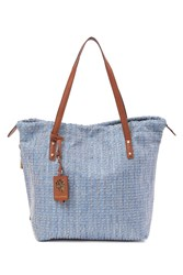 Tommy Bahama Woven Tote Falbl
