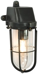 Original Btc Weatherproof Ships Well Glass Wall Light 2 Black