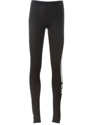 Y 3 Stripe Appliqua Leggings Black