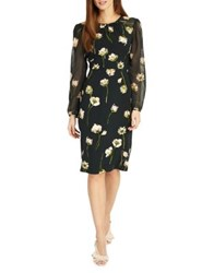 Phase Eight Sorina Printed Floral Dress Peacock