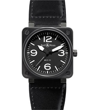Bell And Ross Br0192 Bl Ca Aviation Steel Watch