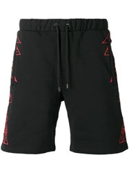 Marcelo Burlon County Of Milan Lamborghini Shorts Black