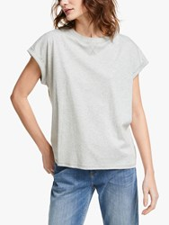 And Or Cotton Tank T Shirt Grey Marl