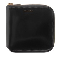 Acne Studios Csarite Zip Wallet Black
