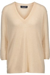 Magaschoni Cashmere Sweater Cream