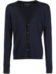 Rag And Bone Rag And Bone Classic Cardigan Blue