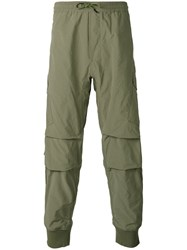 Mhi Maharishi Cargo Track Pants Men Nylon Polyester Xl Green
