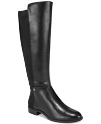 Alfani Women's Step 'N Flex Pippaa Tall Boots Created For Macy's Women's Shoes Black