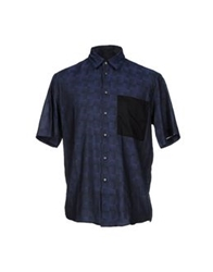 Surface To Air Shirts Dark Blue