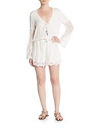 Young Fabulous And Broke Kris Short Jumpsuit White
