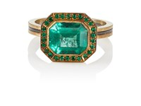 Judy Geib Emerald Ring No Color