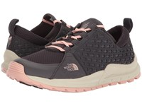 The North Face Mountain Sneaker Weathered Black Evening Sand Pink Women's Lace Up Casual Shoes Weathered Black Evening Sand Pink