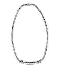 John Hardy Dot Tube Enhancer Chain Necklace