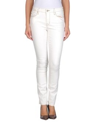 Marc By Marc Jacobs Denim Pants White