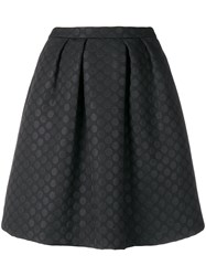 Paul Smith Ps By Dotted A Line Skirt Black
