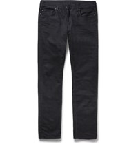 Tomas Maier Slim Fit Stretch Denim Jeans Black