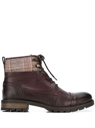 Tommy Hilfiger Plaid Patch Ankle Boots 60