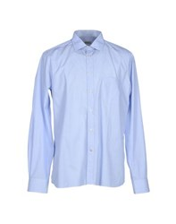 Seventy By Sergio Tegon Shirts Shirts Men Sky Blue