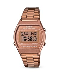 Casio Vintage Digital Watch 38.9Mm X 35Mm Rose