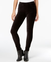 Style And Co Corduroy Leggings Created For Macy's Deep Black