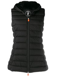 Save The Duck Padded Zip Front Gilet Black