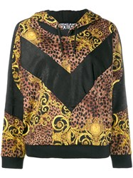 Versace Jeans Couture Baroque Hoodie Brown