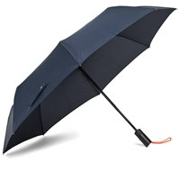 London Undercover Auto Compact Umbrella Blue