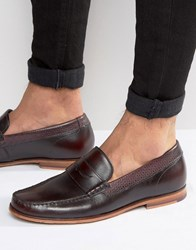 Ted Baker Miicke Loafers Red