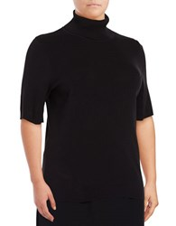 Jones New York Plus Fitted Turtleneck Top