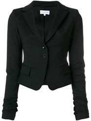 Patrizia Pepe Fitted Blazer Black