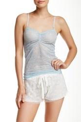 Joe's Jeans Sheer Lace Cami Set Of 2 White