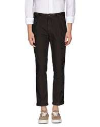 Roda Trousers Casual Trousers Men Dark Brown