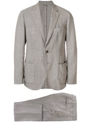 Dell'oglio Two Piece Suit Grey