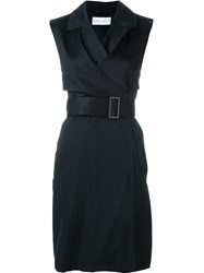 Wanda Nylon 'Laia' Sleeveless Trench Black