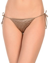 Agent Provocateur Swim Briefs Khaki