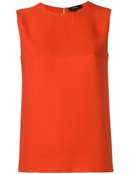 Theory Shell Top Orange