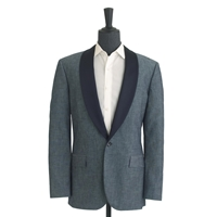 J.Crew Pre Order Ludlow Tuxedo Jacket In Japanese Chambray Chambray Blue