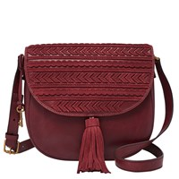 Fossil Zb6964609 Emi Saddle Bag Red