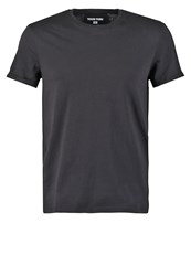Your Turn Regular Fit Basic Tshirt Black